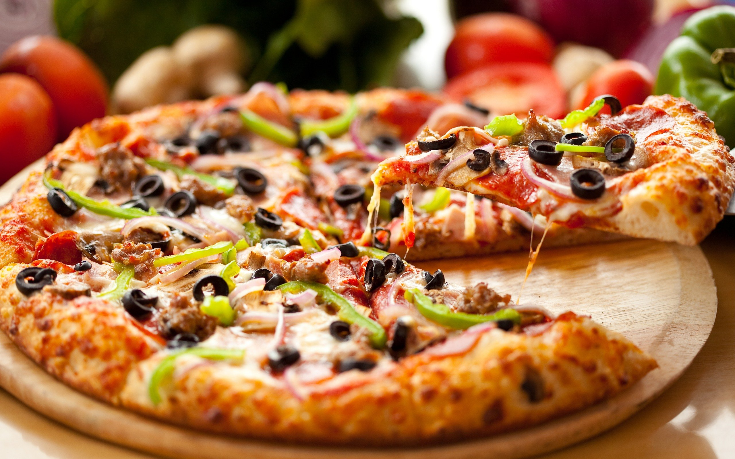 Algemeen etenstopic Pizza-stock