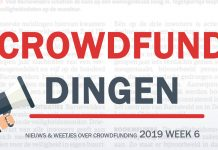 Crowdfund dingen week 6 2019