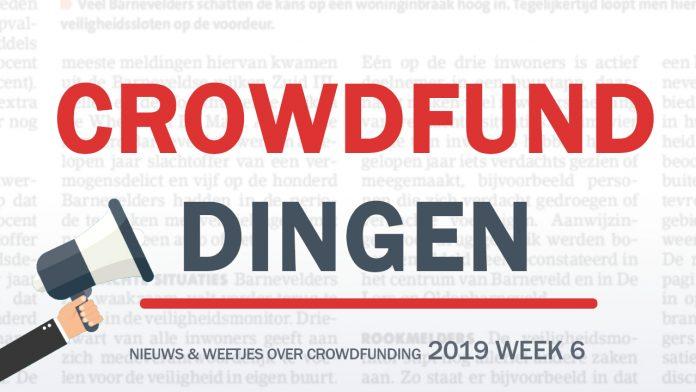 Crowdfund dingen week 6 2019